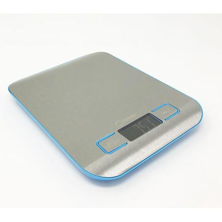 Digital Kitchen Food Diet (Weighology Compact Digital Kitchen Scale Diet Food Postal Mailing 5KG/11LBS x 1g)