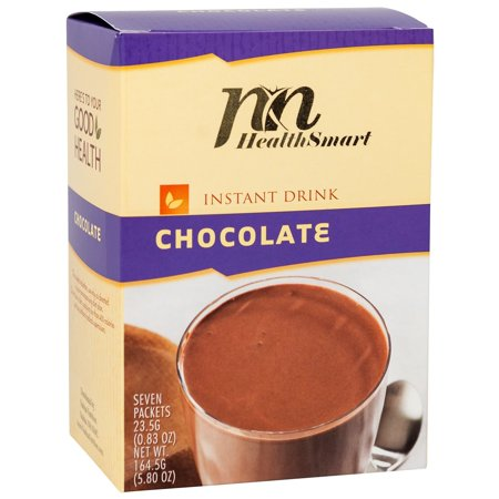 HealthSmart - High Protein Diet Chocolate Drink - Instant Chocolate Milk Packet -