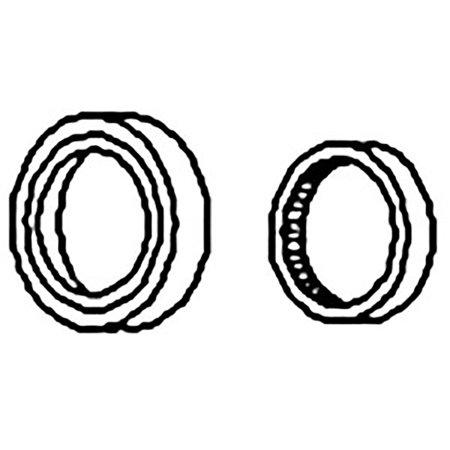 74062088 New Rear Crankshaft Seal w/ Wear Sleeve made to