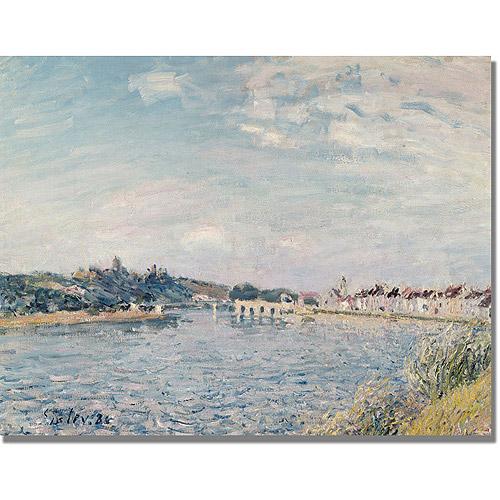 "Trademark Fine Art ""Landscape, 1888"" Canvas Art by Alfred Sisley"