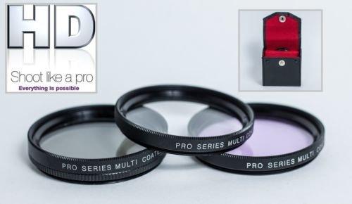 Circular Polarizer Multithreaded Glass Filter Multicoated 49mm for Panasonic Lumix DMC-GH2 Digital Nc C-PL