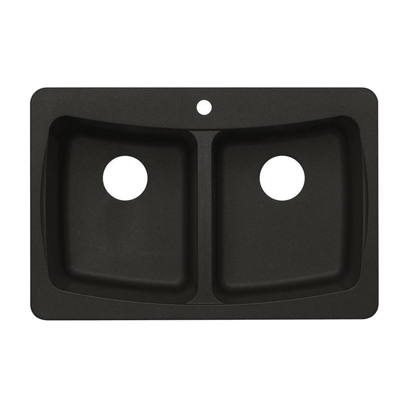 Astracast AS-AL20USSK Double Basin Drop In/Undermount Kitchen Sink