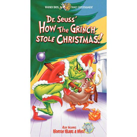 dr seuss how the grinch stole christmas clamshell vhs - How The Grinch Stole Christmas Vhs