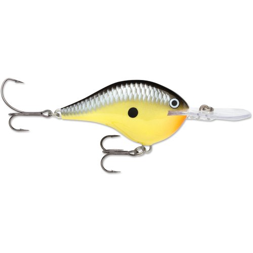 Rapala Dives-To 10 Old School, Yellow by Normark Corporation
