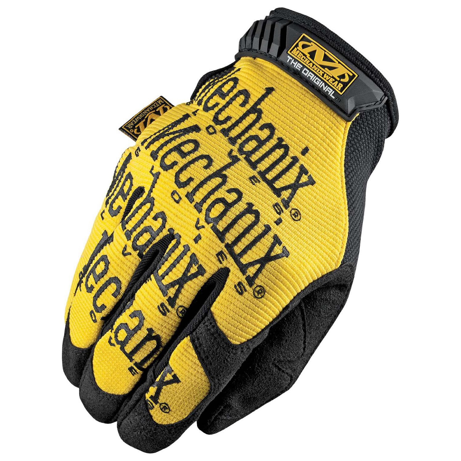 R3 Safety MG-01-008 The Original Gloves, Yellow, Small