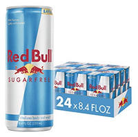 (24 Cans) Red Bull Sugar Free Energy Drink, 8.4 Fl Oz (6 Packs of 4)
