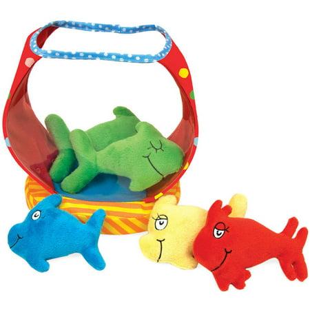 Manhattan Toy Dr. Seuss One Fish Bowl Baby Activity - Dr Seuss Activity