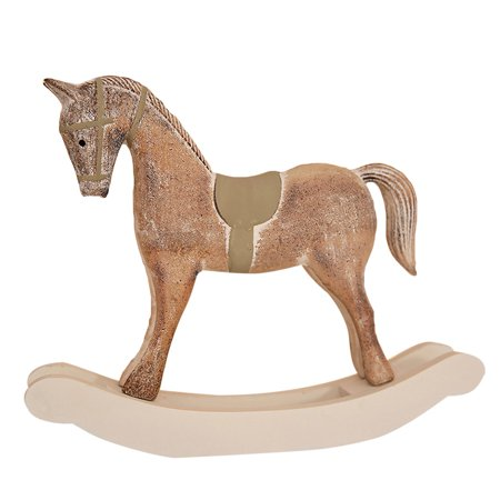 Find Many Great New Used Options And Get The Best Deals For Ceramic Wood Rocking Horse Christmas Decor 10 X Sta4 At Online