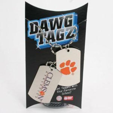 - Clemson Tigers Dawg Tagz - Military Style Dog Tags