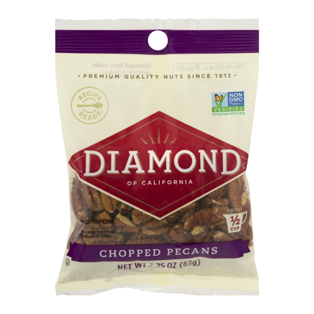 Diamond of California Chopped Pecans, 2.25 OZ