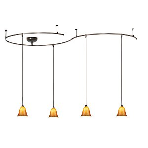 Wac Lighting Solorail Pendant Kit Dark Bronze