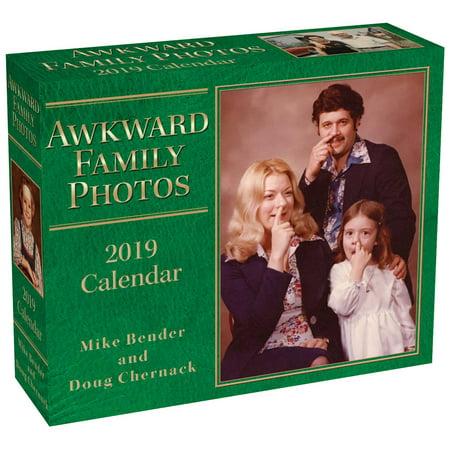 Awkward Family Photos 2019 Day-To-Day Calendar (Other)