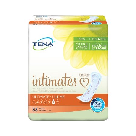TENA Intimates Ultimate Pads Liner, Heavy 16 Inch Bladder Control Pads, 54305 - Case of 99