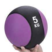 Lv. life Weighted Fitness Medicine Rubber Ball for Gym Muscle Training Exercise, Weighted Ball, Gym Ball