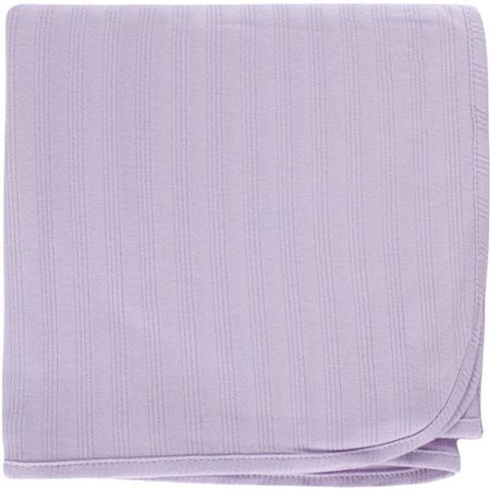Trim Organic Cotton - Touched by Nature Baby Boy and Girl Organic Cotton Swaddle Blanket - Purple