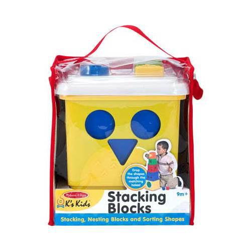 Children's Melissa & Doug Stacking Blocks