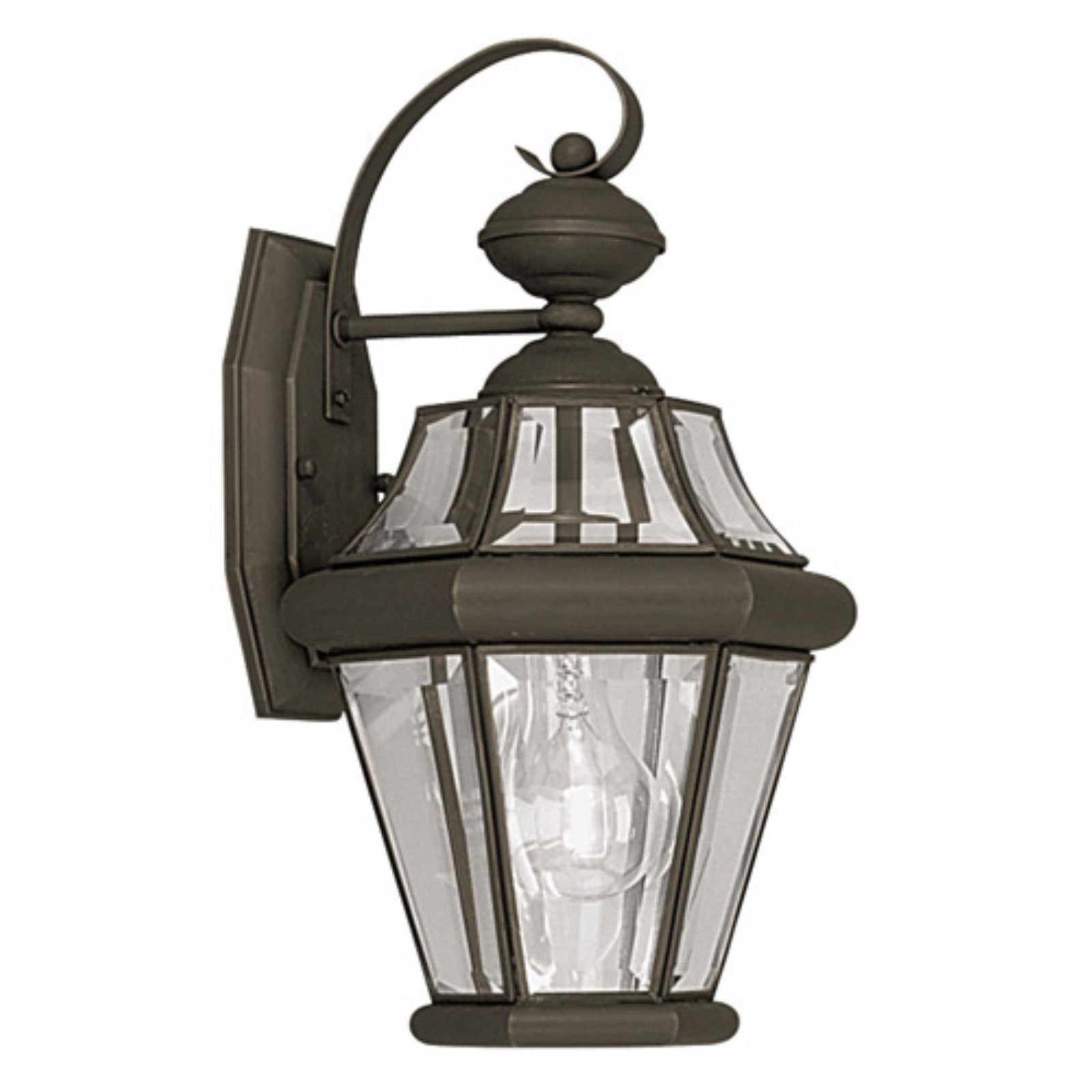Livex Lighting Georgetown 1 Light Outdoor Wall Lantern