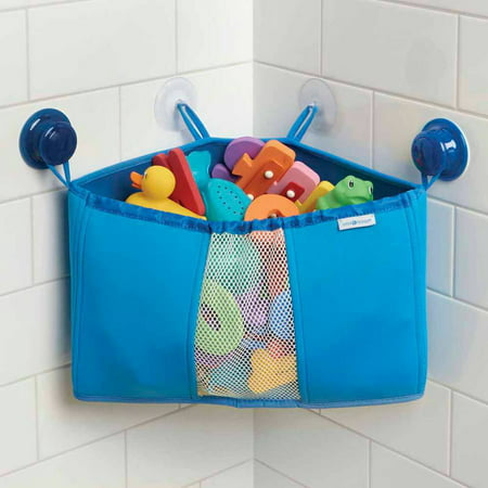 Interdesign kids neoprene corner bathroom shower caddy for Children s bathroom designs