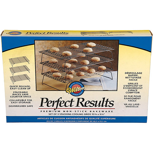 Wilton Perfect Results 3-Tier Non-Stick Cooling Grid 2105-6815 by Wilton