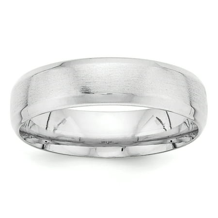 14k White Gold Standard Comfort Fit Fancy Band 22k Gold Fancy Ring