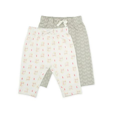 Sunny & Sal Knit Harem Pants, 2-pack (Baby Girls)