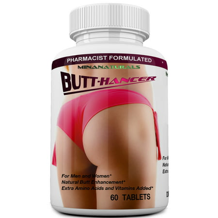 BUTT. HANCER The Best Natural Female Butt Enhancer & Enlargement Pills, Get a Firm, Fuller & Sexy Buttocks, Butt. 2600Mg Formula (The Most
