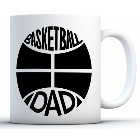 Awkward Styles Basketball Dad Coffee Mug Sports Dad Gifts Father's Day Mugs Basketball Mug for Dad Funny Dad Coffee Mugs Dad Mug for Basketball Fans Best Dad Gifts Cheer Dad Coffee Mug Father (Best Cups And Balls)