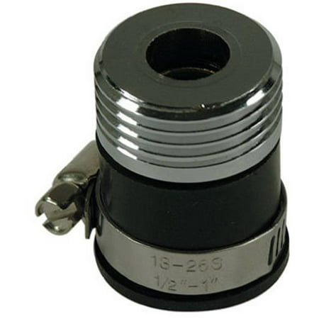 Image of Brass Craft Service Parts SF0044X Hose Adaptor, Lead-Free, 3/4-In.