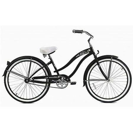 micargi 26 rover gx women 39 s beach cruiser bike matte black. Black Bedroom Furniture Sets. Home Design Ideas