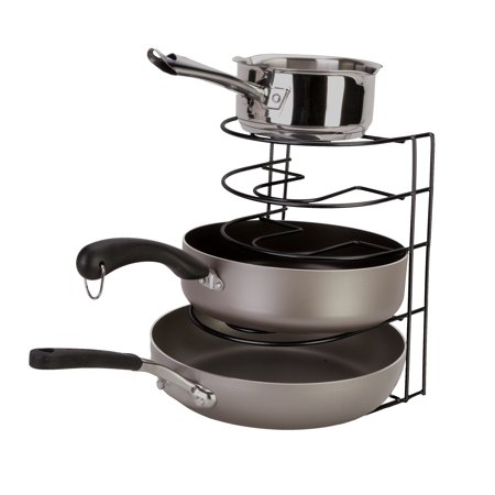Panacea Pot Pan Organizer, Black