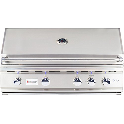 Summerset Trl 38-inch 4-burner Built-in Natural Gas Grill With Rotisserie Trl38-ng by Summerset