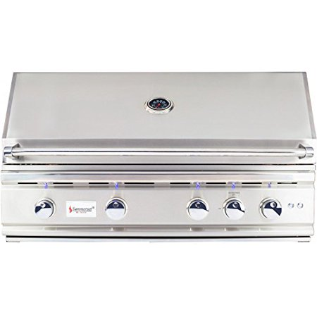 38 Inch Grill - Summerset Trl 38-inch 4-burner Built-in Natural Gas Grill With Rotisserie - Trl38-ng