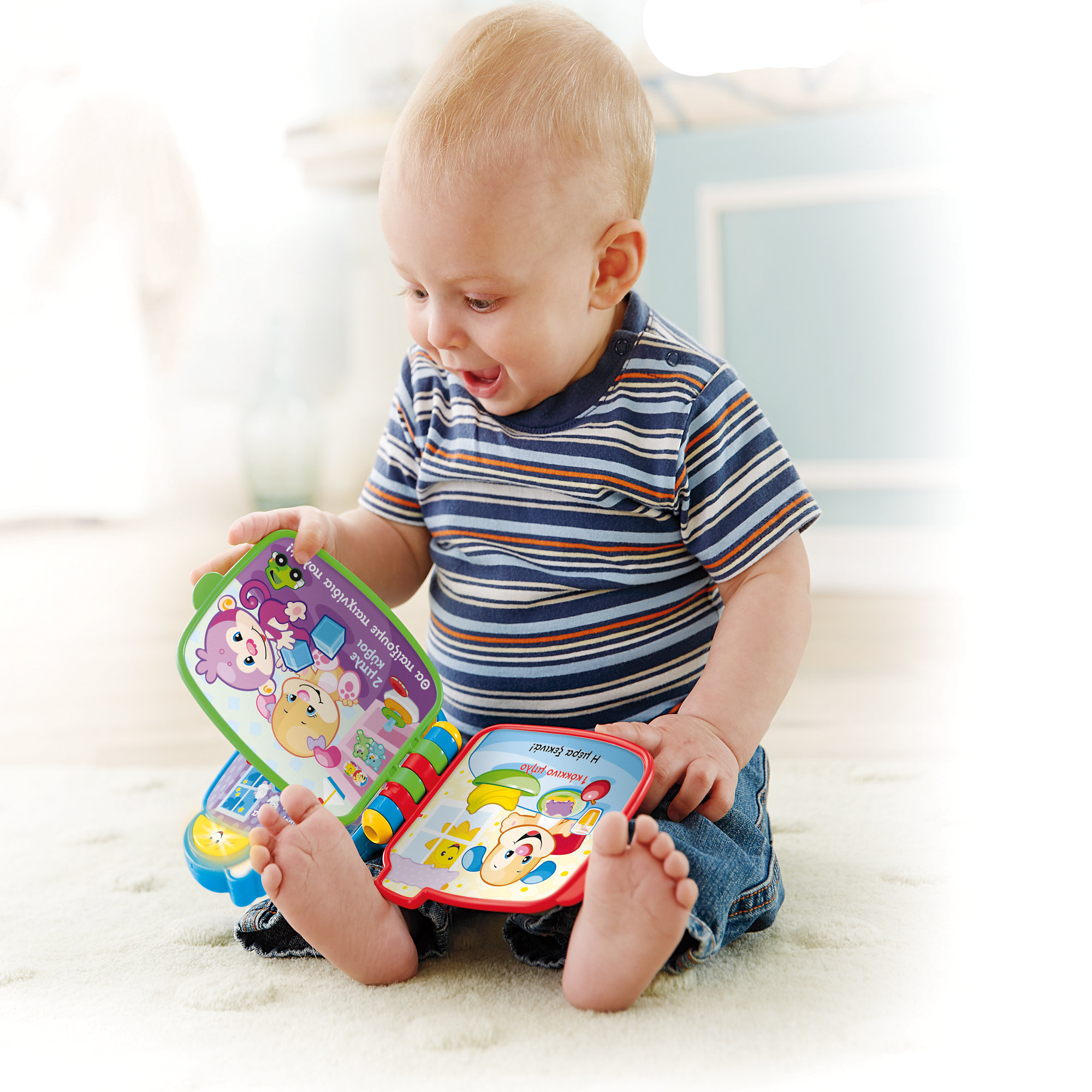 Fisher Price Laugh & Learn Counting With Puppy Book by Fisher-Price