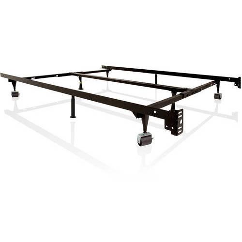 Structures Low Profile Universal Adjustable Metal Bed Frame