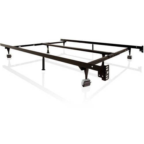 structures low profile universal adjustable metal bed. Black Bedroom Furniture Sets. Home Design Ideas