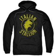Italian Stallion Horse Mens Pullover Hoodie