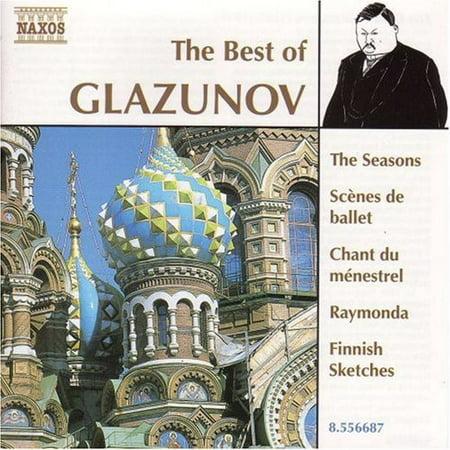Best of Alexander Glazunov (The Best Of Debussy Naxos)