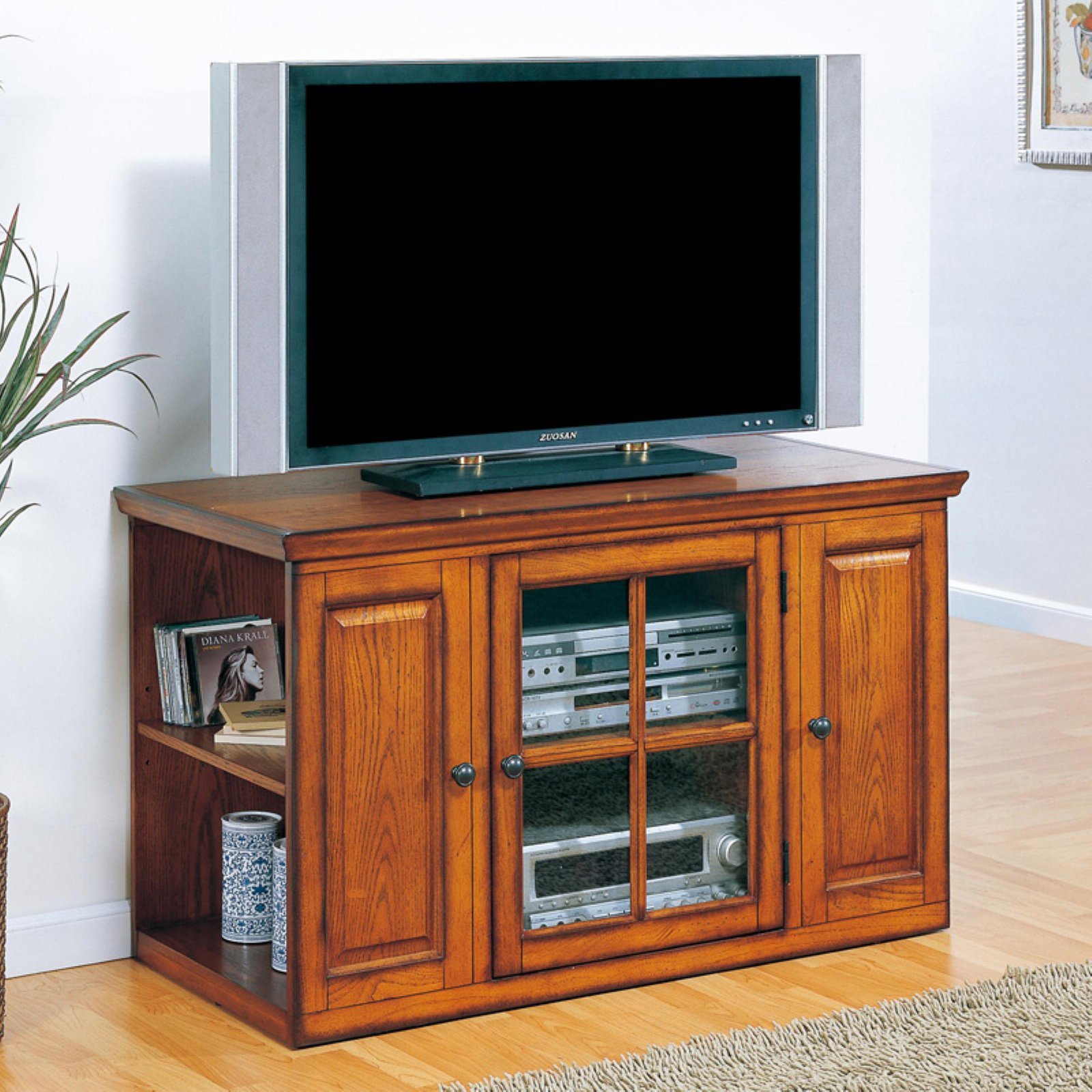 Leick 88159 Riley Holliday Oak 42 in. TV Console by Leick Furniture