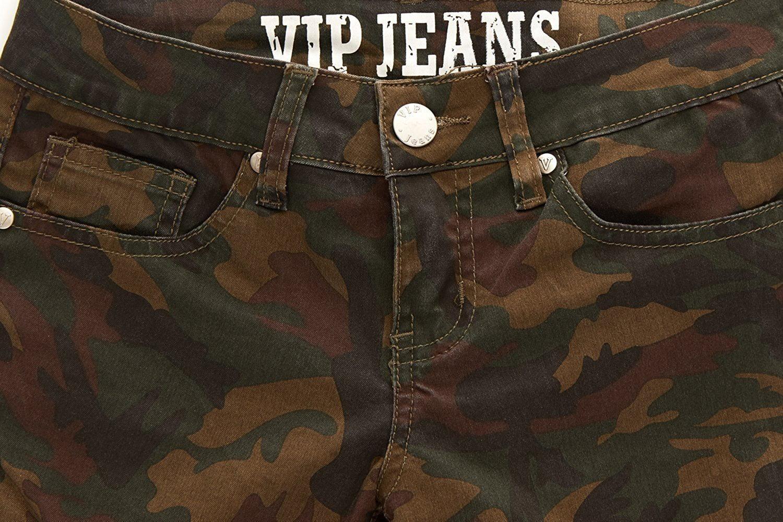 cc30f05091a V.I.P. JEANS - Camo Print Skinny Jeans Joggers Cargo Lace Leg Womens Junior  Size 7 - Walmart.com