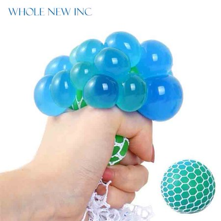 Funny Toys Relief Stress Reliever Grape Ball Autism Mood Squeeze Healthy Toy