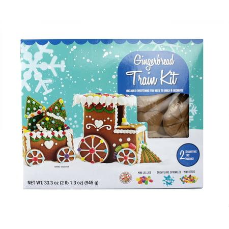 Marketside Gingerbread Train Kit, 2.08 lb
