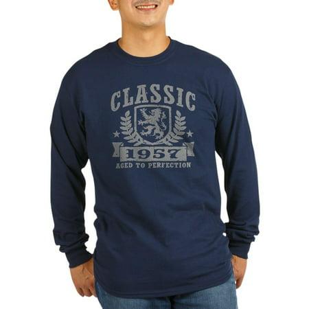 b22e75596b4 CafePress - CafePress - Classic 1957 - Long Sleeve Dark T-Shirt -  Walmart.com