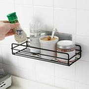 Costyle Metal Wall Shelf Storage Space Saving Mounted Kitchen Bathroom Rack Holders