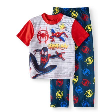 Boys' Spiderman 2 Piece Pajama Sleep Set (Little Boy & Big Boy)