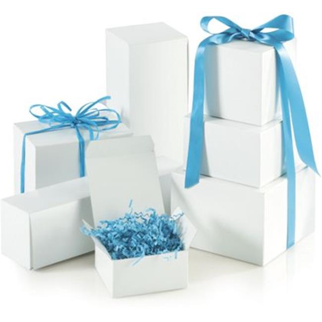 Deluxe Small Business Sales 250-00120C-9 One-Piece Gift Box Assortment, White