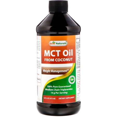 Best Naturals  MCT Oil From Coconut  16 fl oz  473