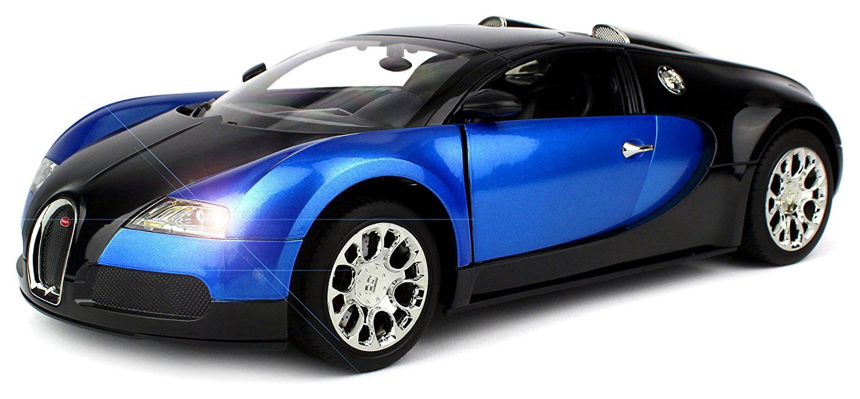 Licensed Bugatti Veyron 16.4 Super Sport Remote Control RC Car Big 1:14 Scale Size w  Bright LED Lights,... by Velocity Toys