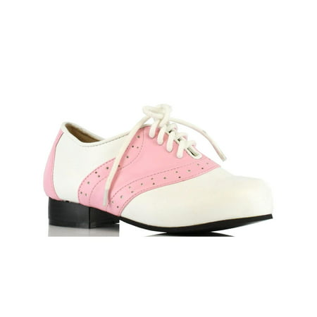Childrens Pink And White Saddle Shoe - Saddle Shoe