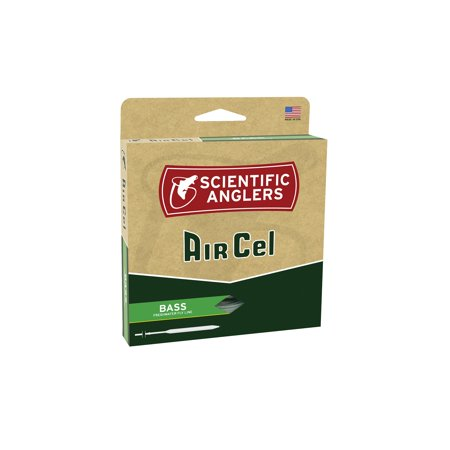Scientific Anglers AirCel Floating Bass Fly Line, 7/8, - 6wt Fly Lines