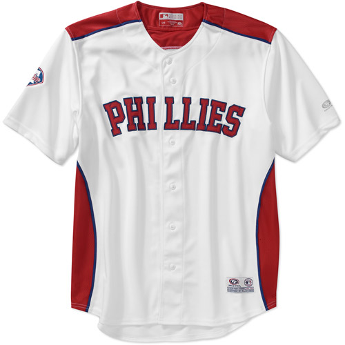 MLB Men's Philadelphia Phillies Mesh Team Jersey